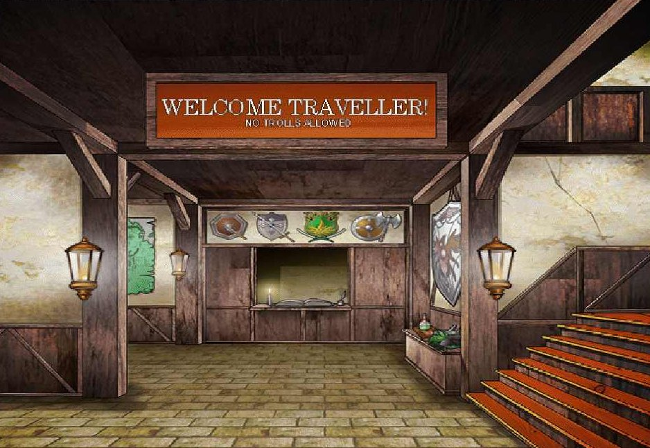 Welcome, traveller!